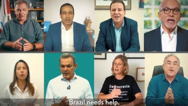 Prefeitos pedem ajuda internacional contra Covid no Brasil