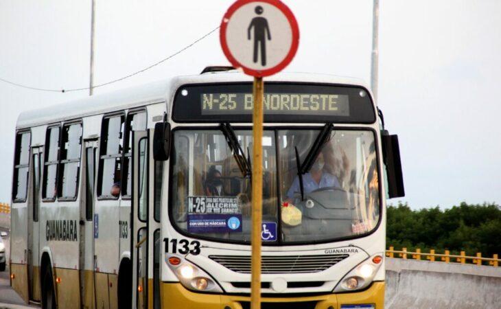 Valor da tarifa de ônibus será congelado até o final deste ano em Natal