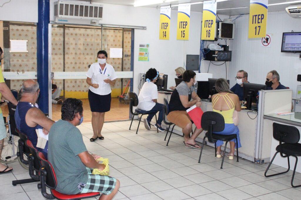 Centrais do Cidadão reabrem exclusivamente para atendimento de serviços do Itep