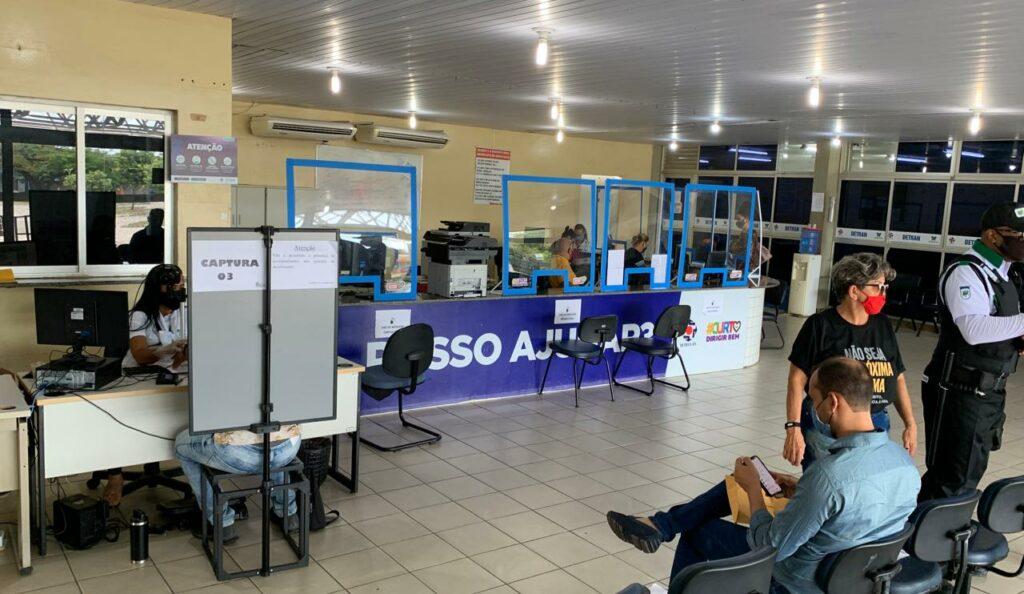 Detran: serviços presenciais de habilitação retornam em Natal e Mossoró