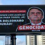 General Girão pede punição de responsáveis por outdoor contra Bolsonaro