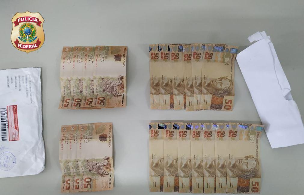 PF apreende dinheiro falsificado enviado pelos Correios para cidades do RN