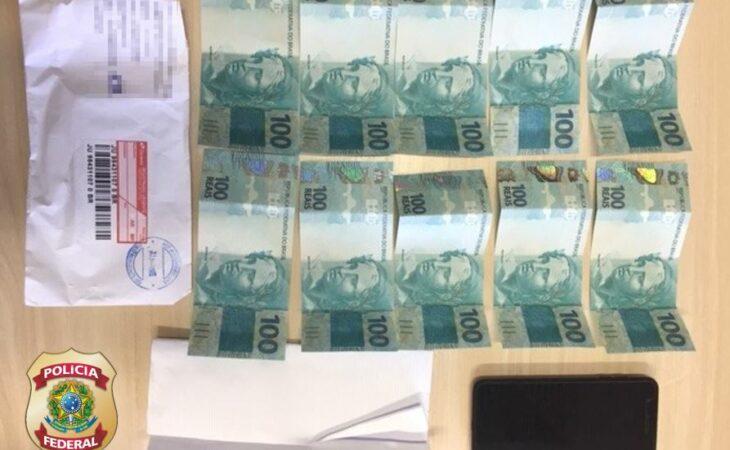 PF apreende dinheiro falsificado enviado pelos Correios para duas cidades do RN
