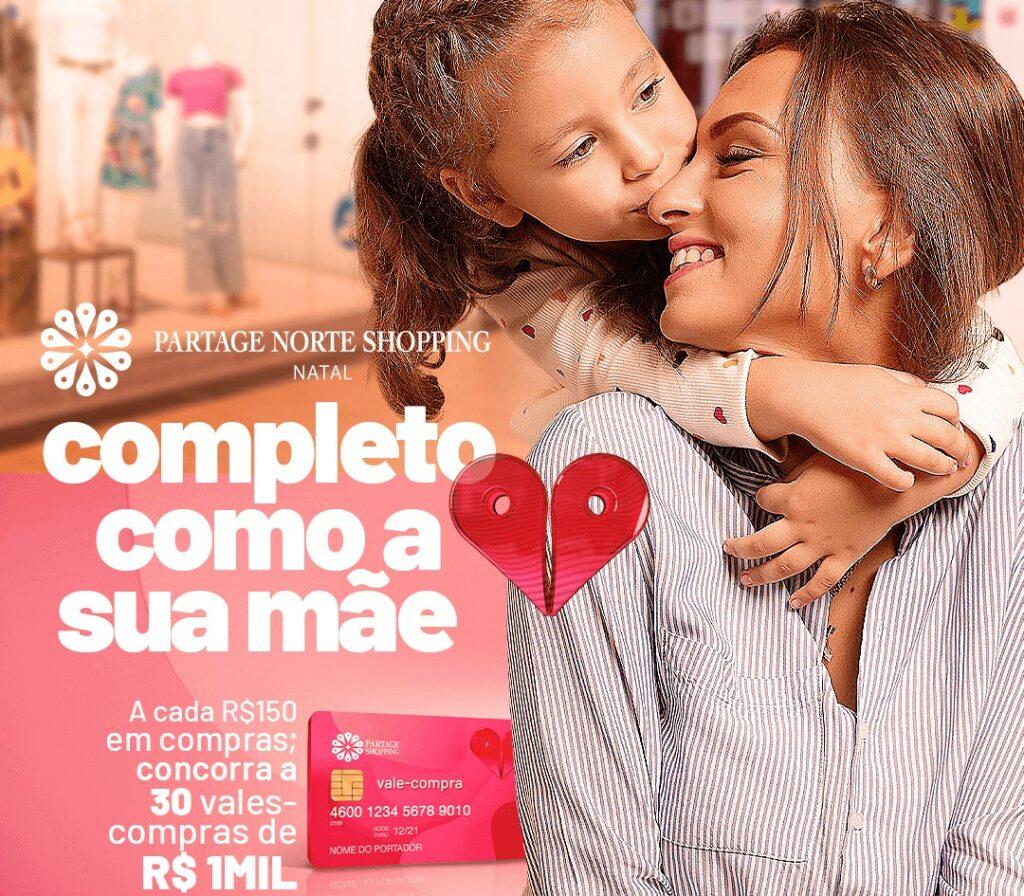 Partage Shopping Natal vai sortear 30 vales-compras de R$ 1 mil