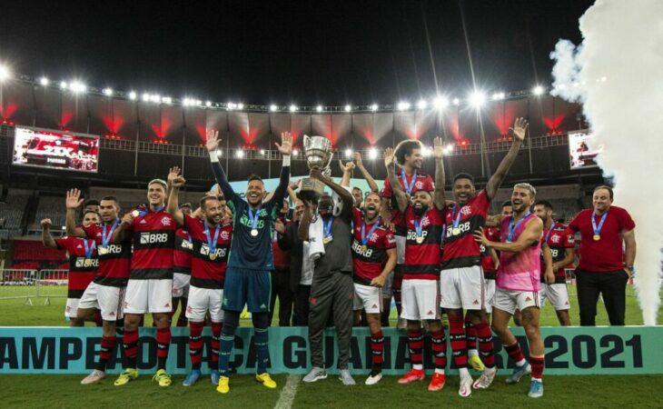 Flamengo vence Volta Redonda e é campeão da Taça Guanabara