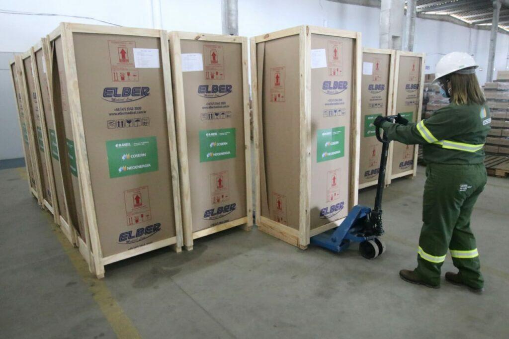 Cosern doa refrigeradores para armazenar vacinas no RN