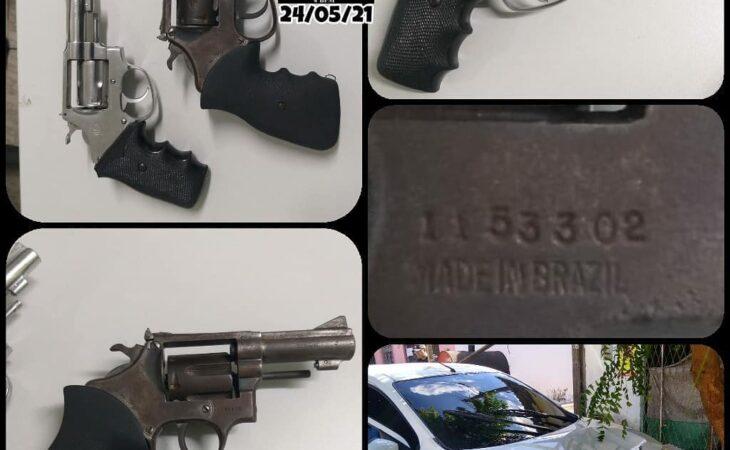 Bandidos morrem após troca de tiros com a PM na zona Norte de Natal
