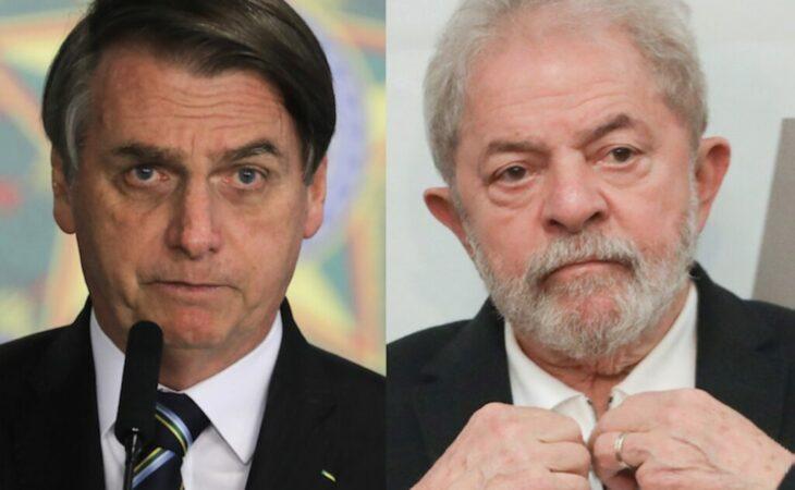 """Bolsonaro volta a criticar Lula: """"Bandido que não tem um dedo"""""""