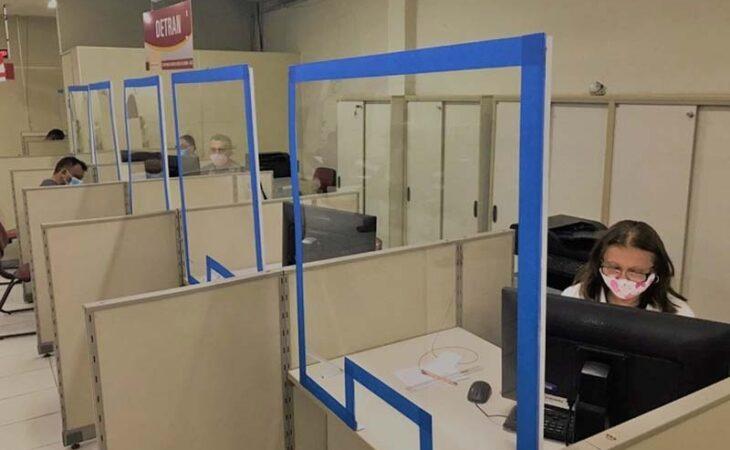 Centrais do Cidadão retomam serviços do Detran na região metropolitana de Natal
