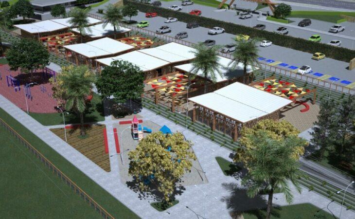 Costeira Parque: projeto prevê quadras, área de piquenique, academia e pistas de skates em Natal