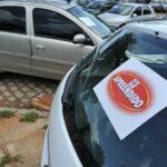 Detran vai leiloar 206 lotes de veículos no RN