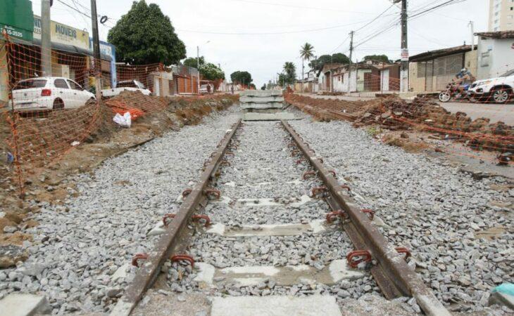 MDR fiscaliza obras de modernização da malha ferroviária da Grande Natal