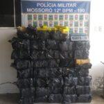 Polícia Militar faz apreensão de 658 Kg de maconha em Mossoró