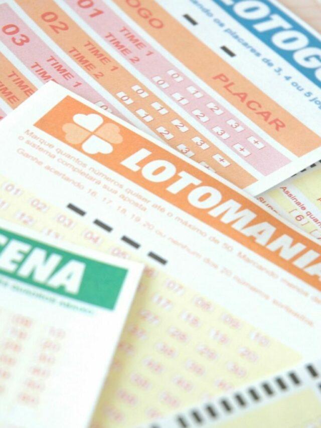 Resultado das Loterias deste sábado (15/05/21)