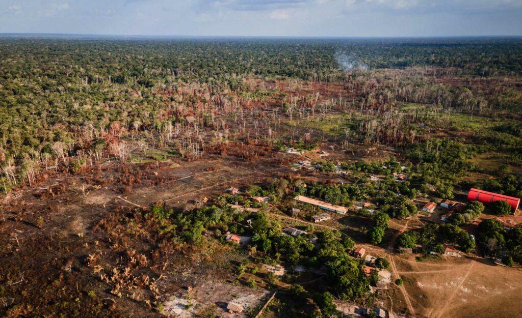 Desmatamento na Amazônia em abril bate recorde, mostra Inpe