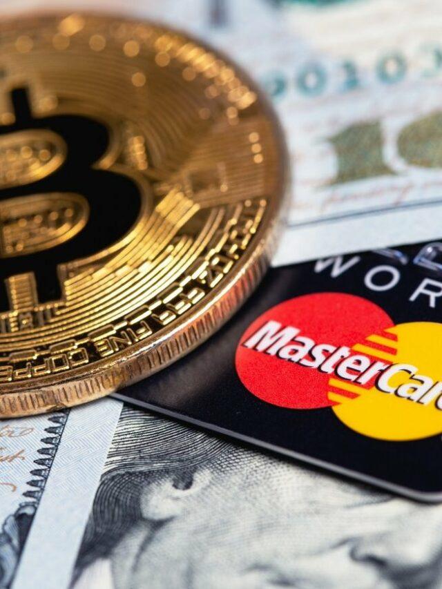 Novo cartão MasterCard terá cashback em criptomoedas