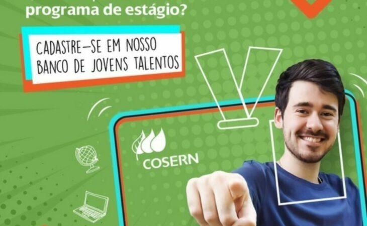 Cosern abre inscrições para Programa de Estágio 2021
