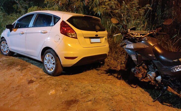 PM localiza em poucos minutos veículo roubado